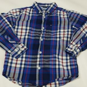 Tommy Hilfiger button down boys size 6